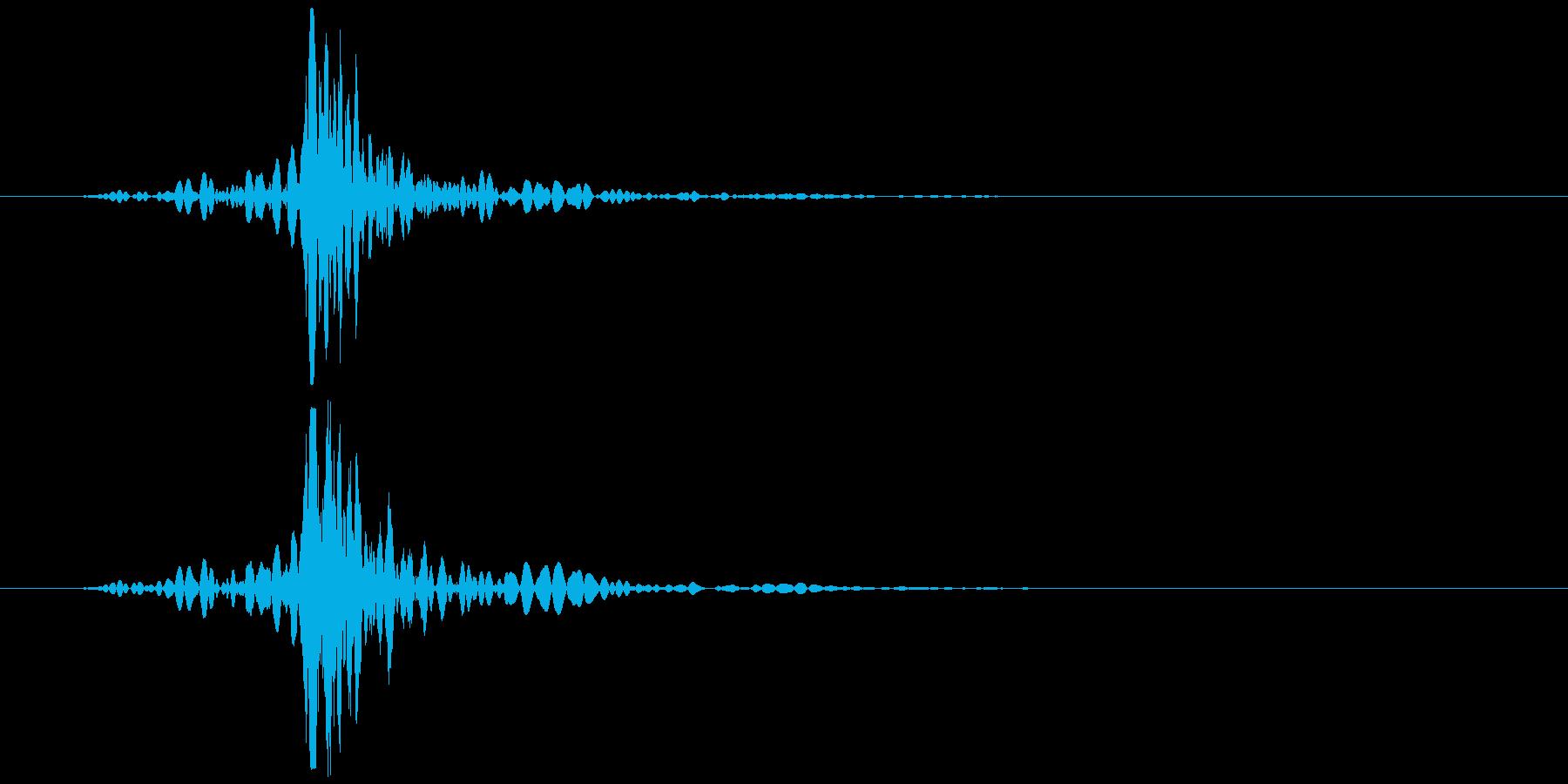 コンセント 抜く、挿す ズッ… 低めの再生済みの波形