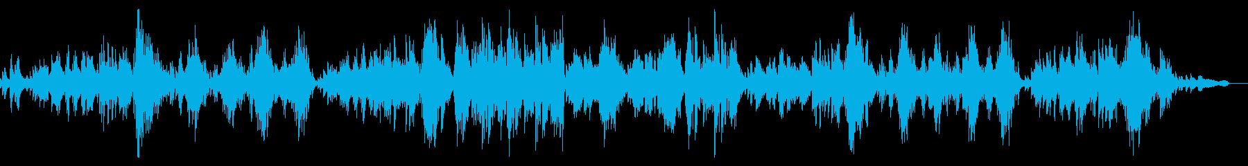 サティの名曲ジュ・トゥ・ヴー(ピアノ)の再生済みの波形
