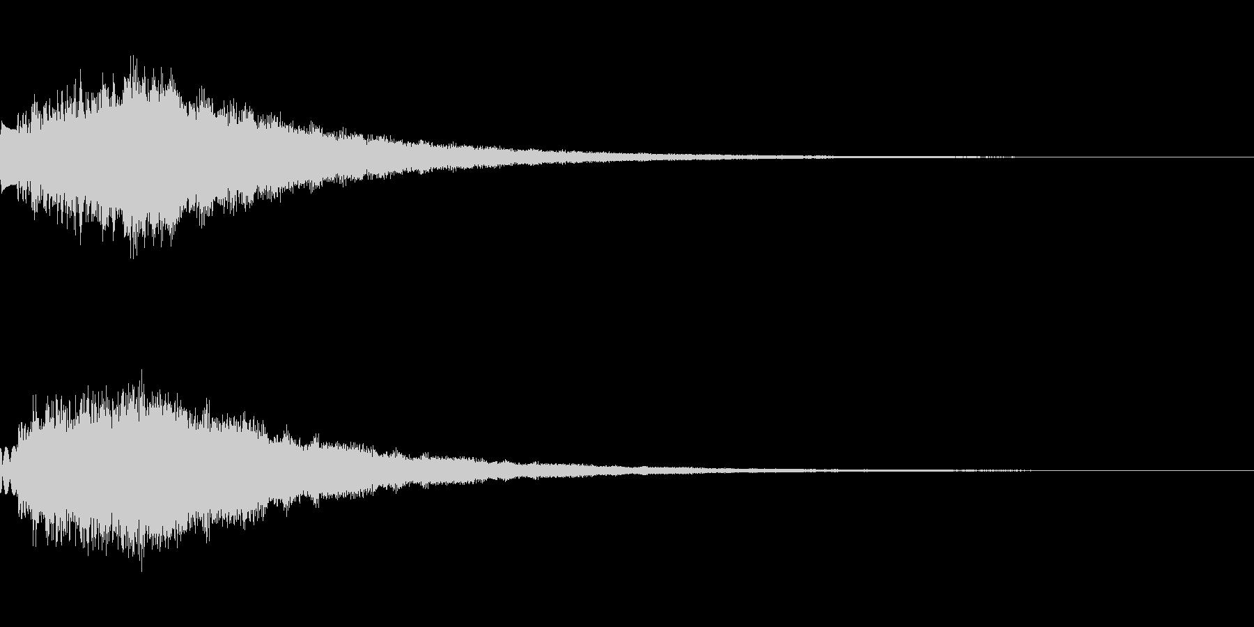 キラキラ シャララーン アイキャッチ01の未再生の波形