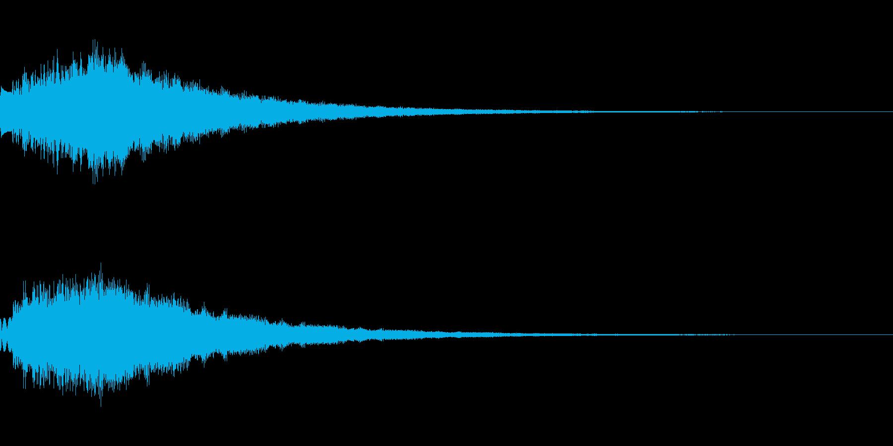 キラキラ シャララーン アイキャッチ01の再生済みの波形