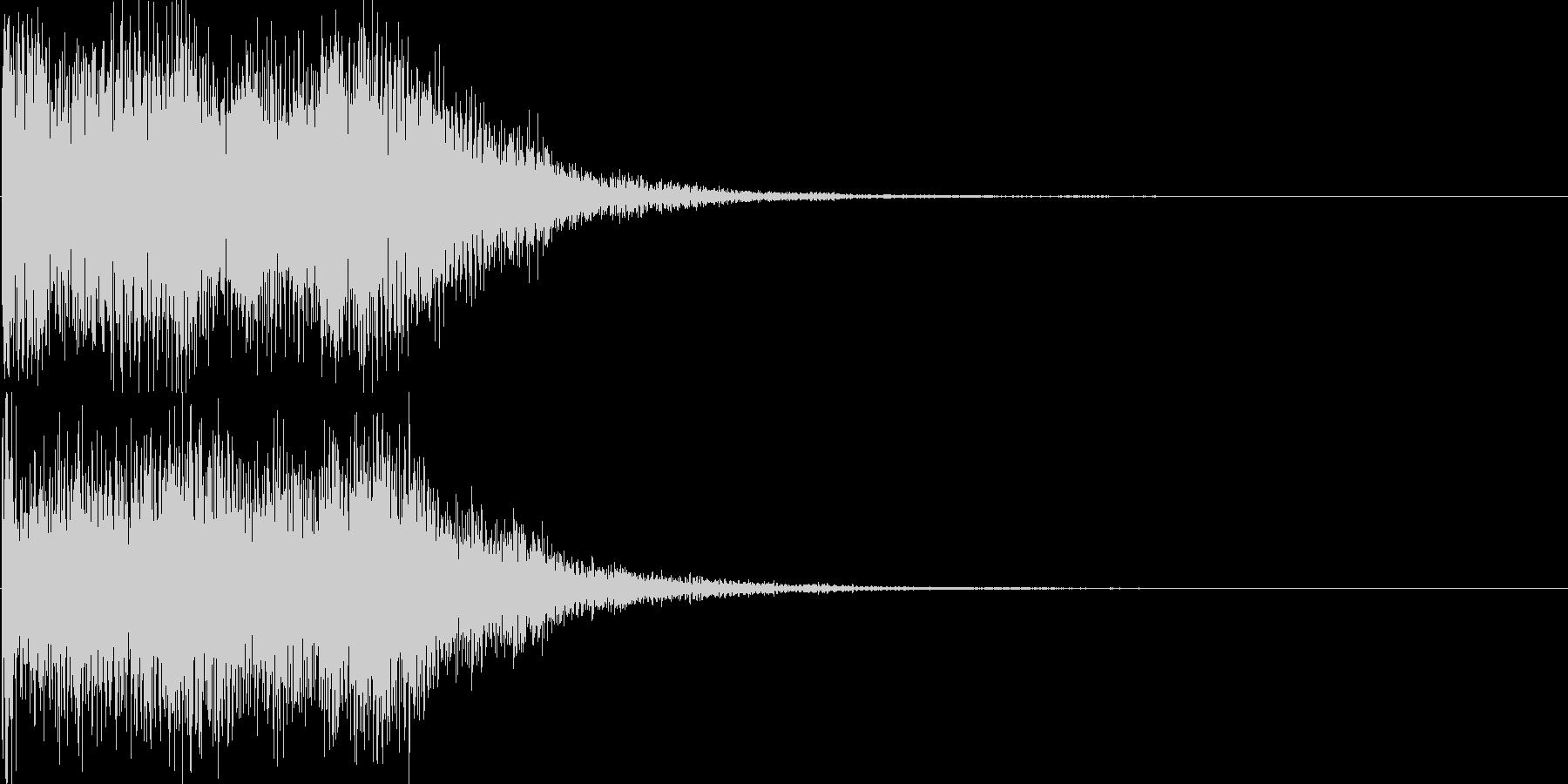 サウンドロゴ14(シンセ系)の未再生の波形