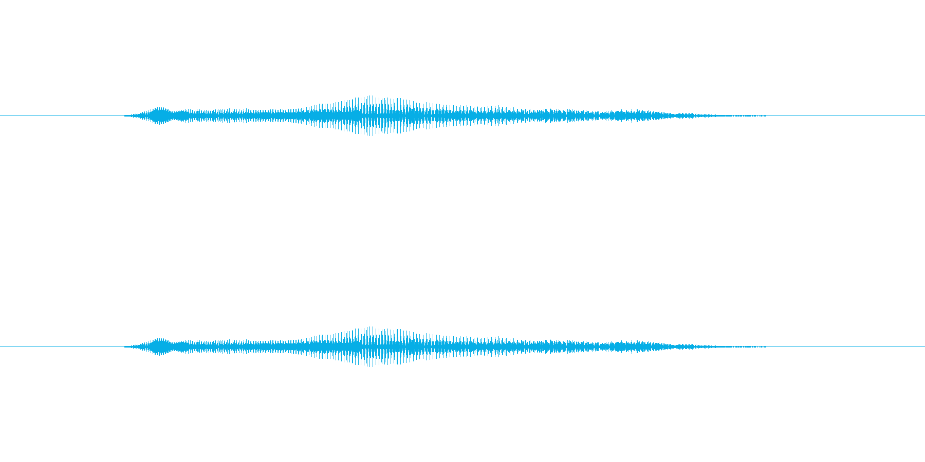 ニャー_猫声-10の再生済みの波形