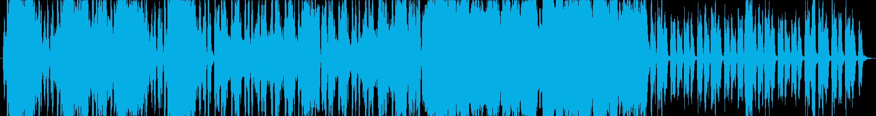 やや壮大な昔語り風イメージ曲の再生済みの波形