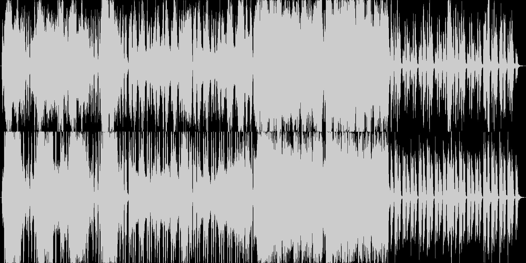 やや壮大な昔語り風イメージ曲の未再生の波形