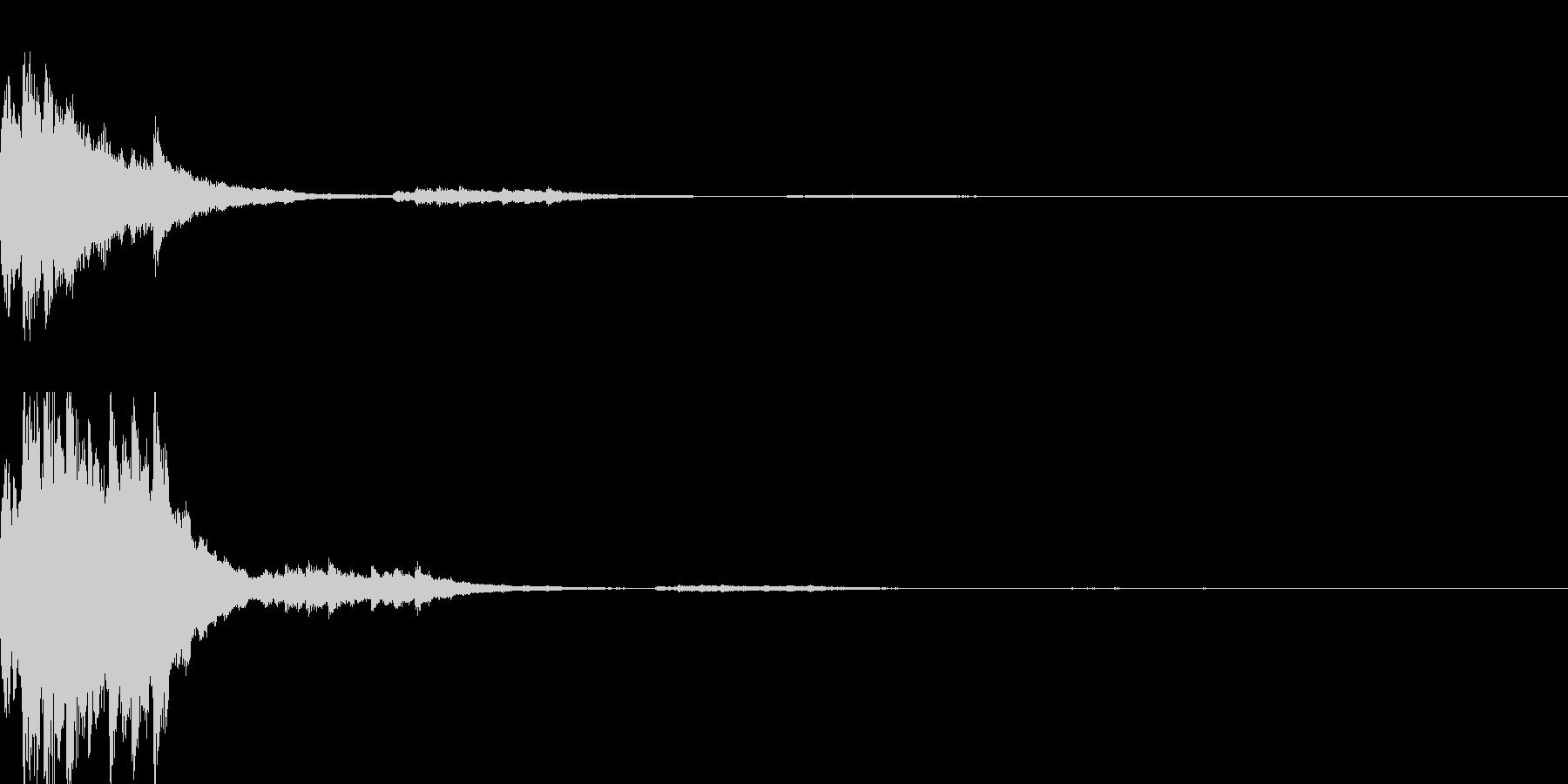 ゲームスタート音の未再生の波形