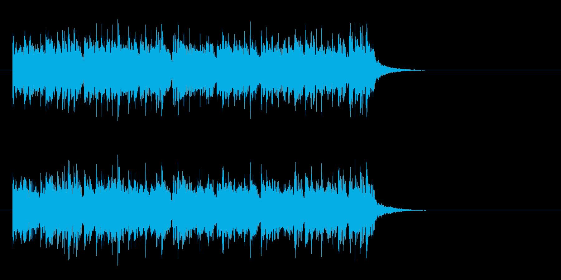 爽やかな8ビートポップス(サビ)の再生済みの波形