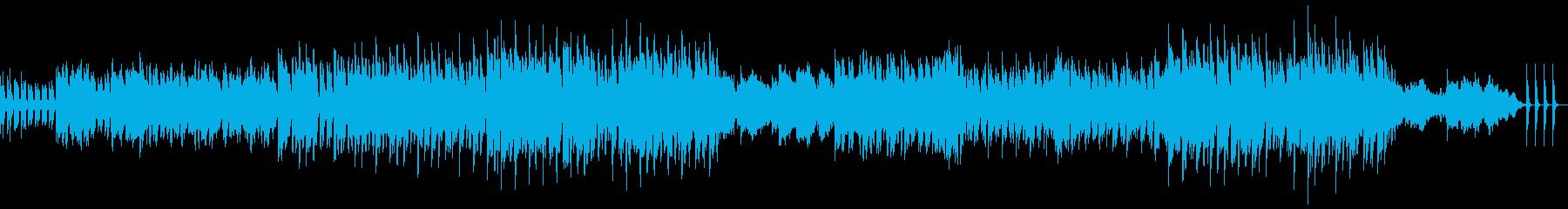 壮大なバラードの再生済みの波形