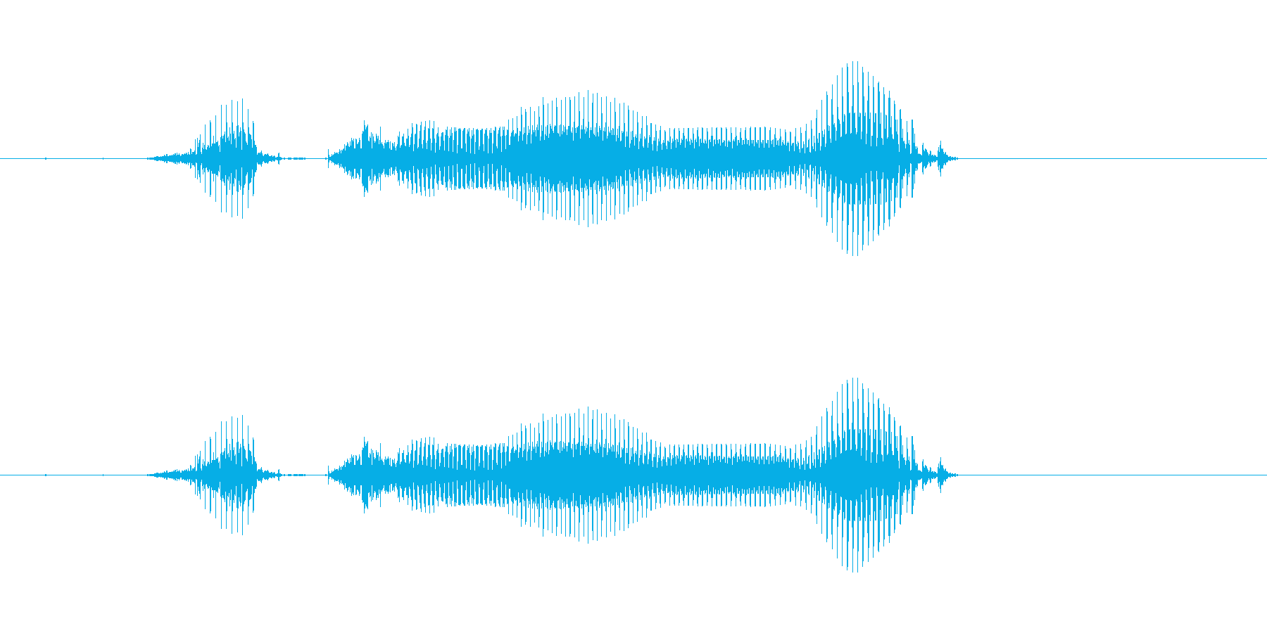 【年数】8年後の再生済みの波形