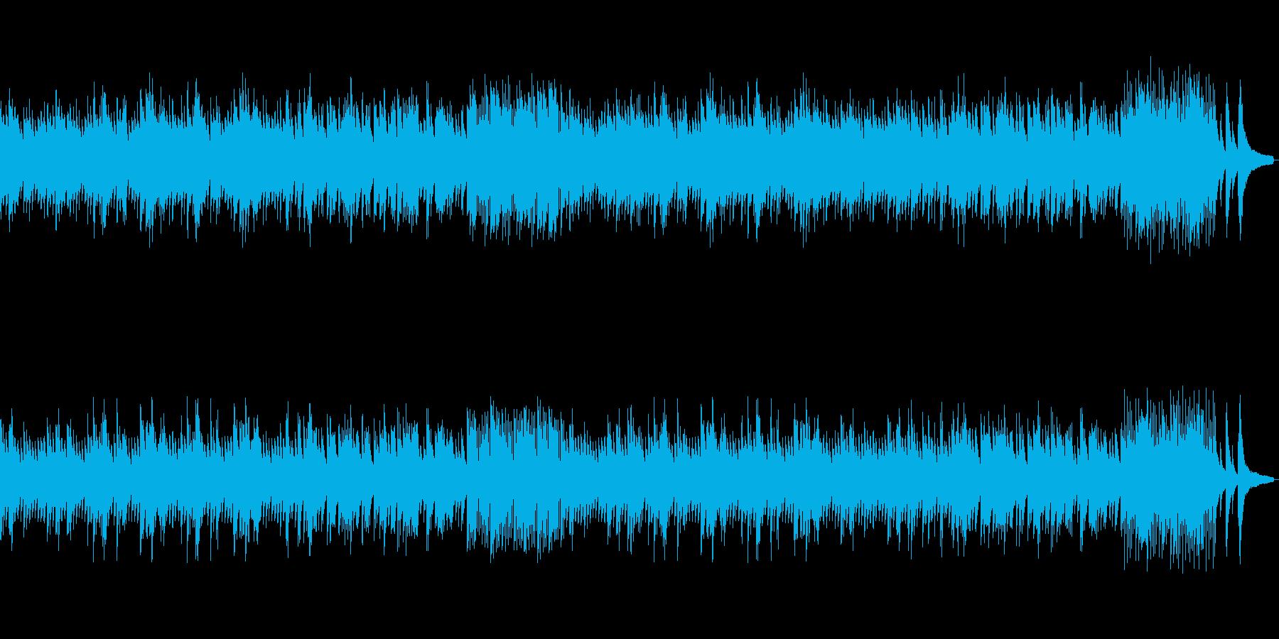 穏やかな雰囲気のピアノソロバラードの再生済みの波形
