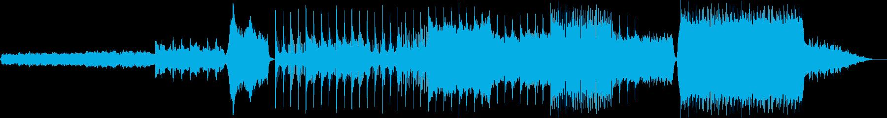和の映像イメージの再生済みの波形