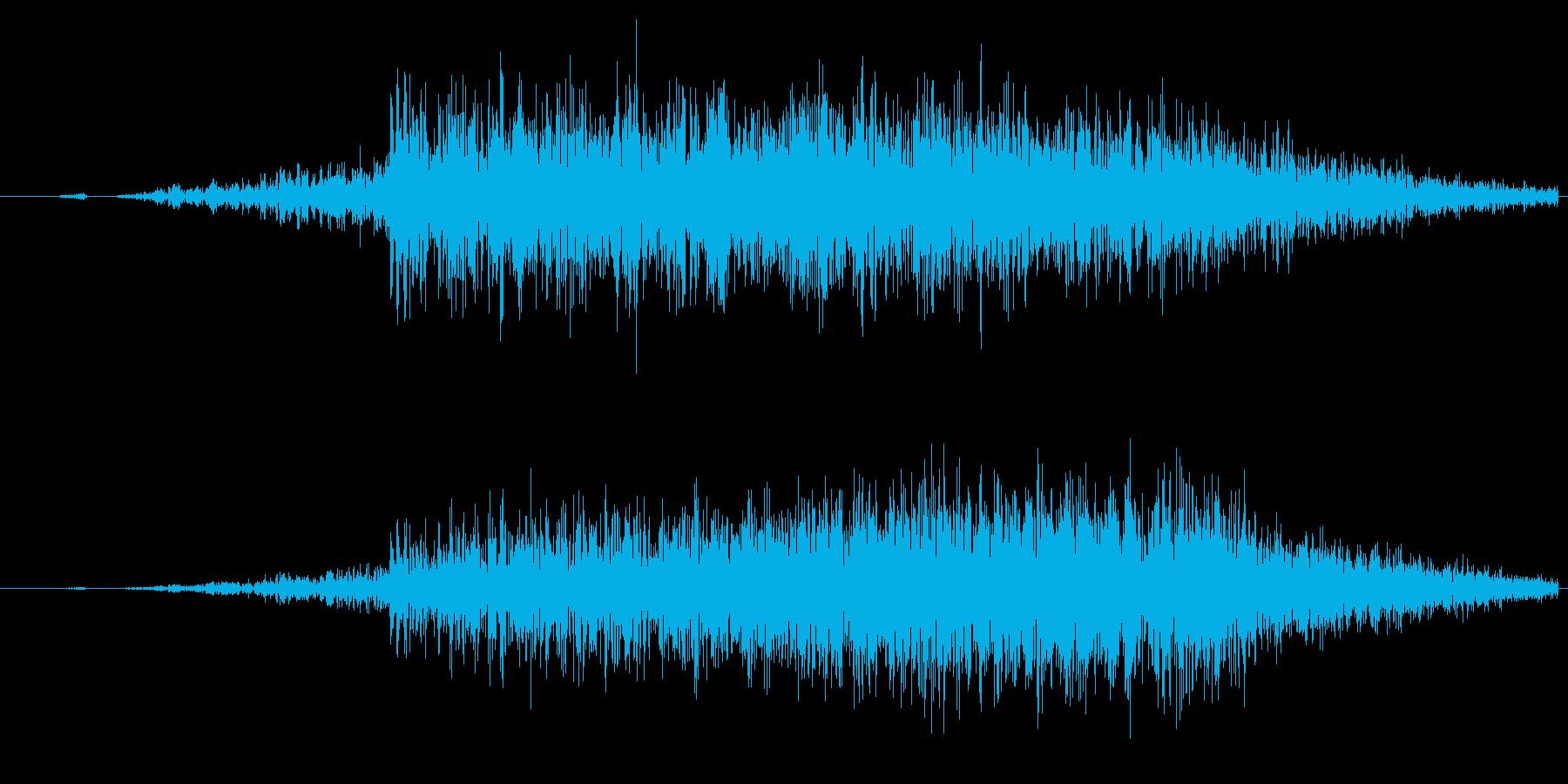 スワイプ/キャンセル/場面転換に最適!4の再生済みの波形