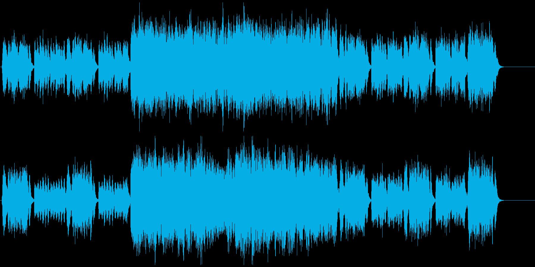 RPGの宮殿を思わせるクラシックの再生済みの波形