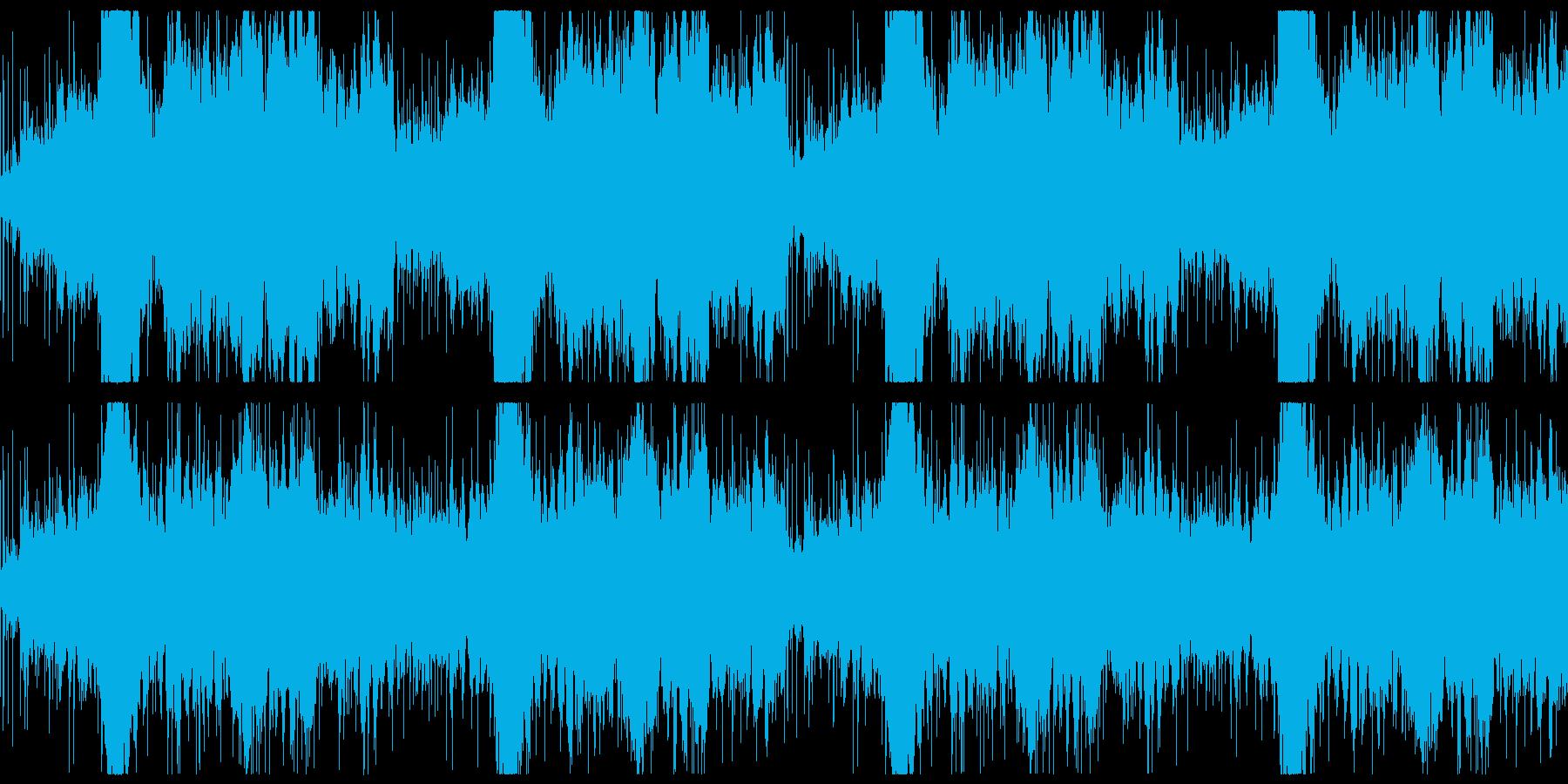 ジャングル・アフリカ系のアンビエント曲の再生済みの波形