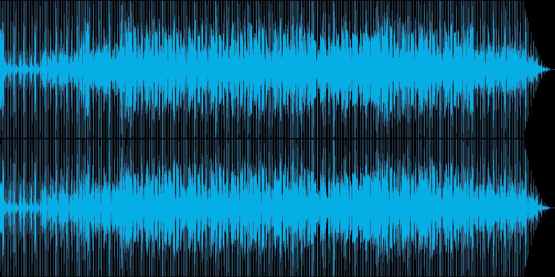 サックス入りファンキーなスムースジャズの再生済みの波形