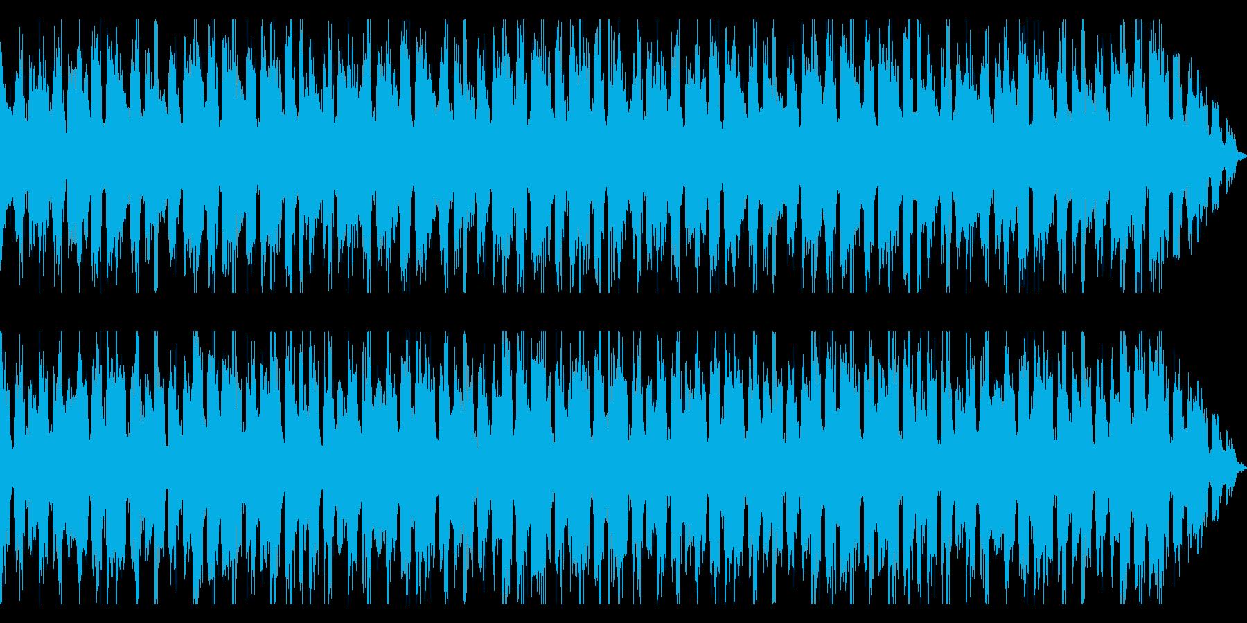 広がりがありCM他、BGMで利用可能の再生済みの波形