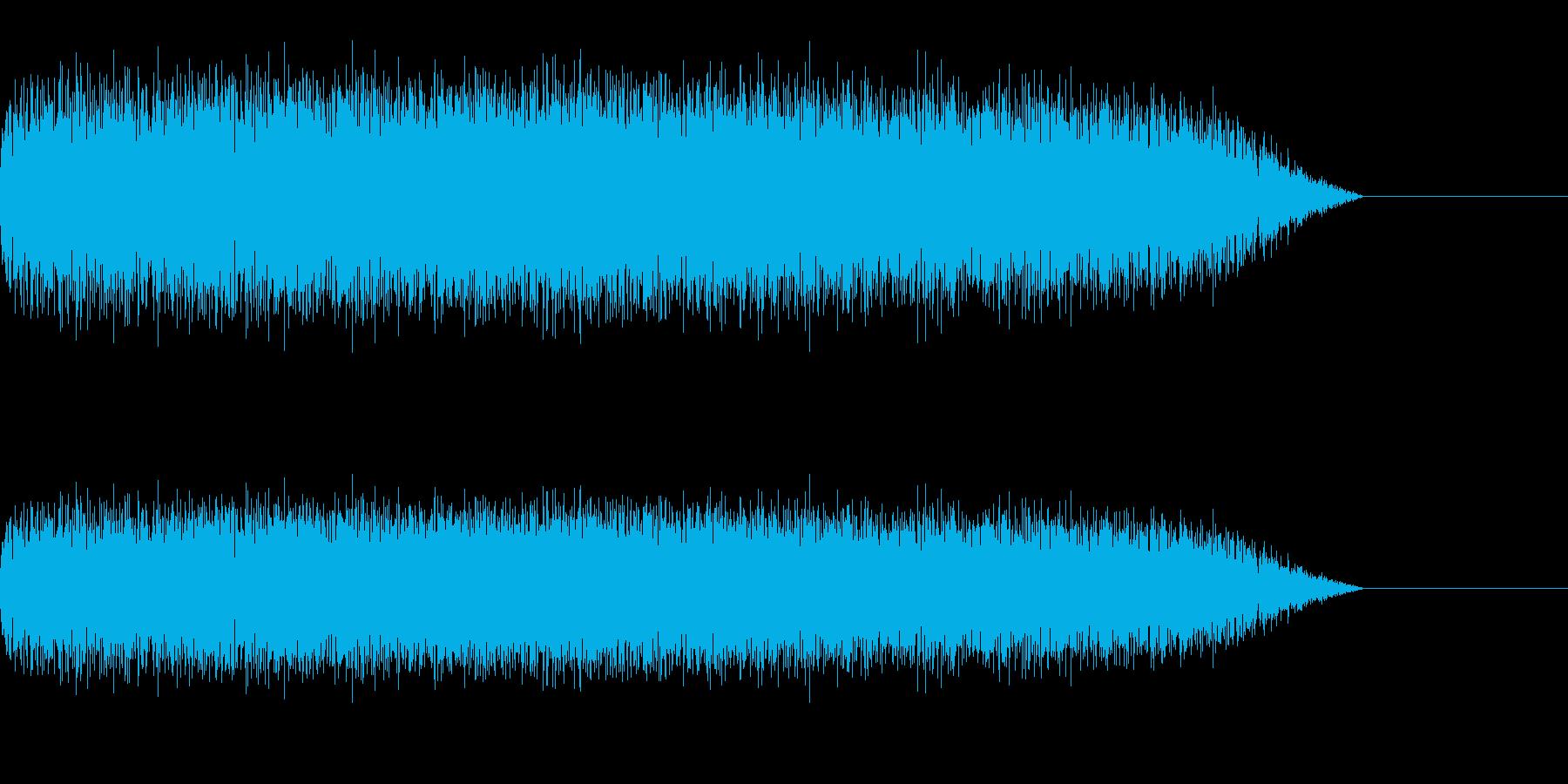 ズサーッ(スライディング/滑り込む)の再生済みの波形