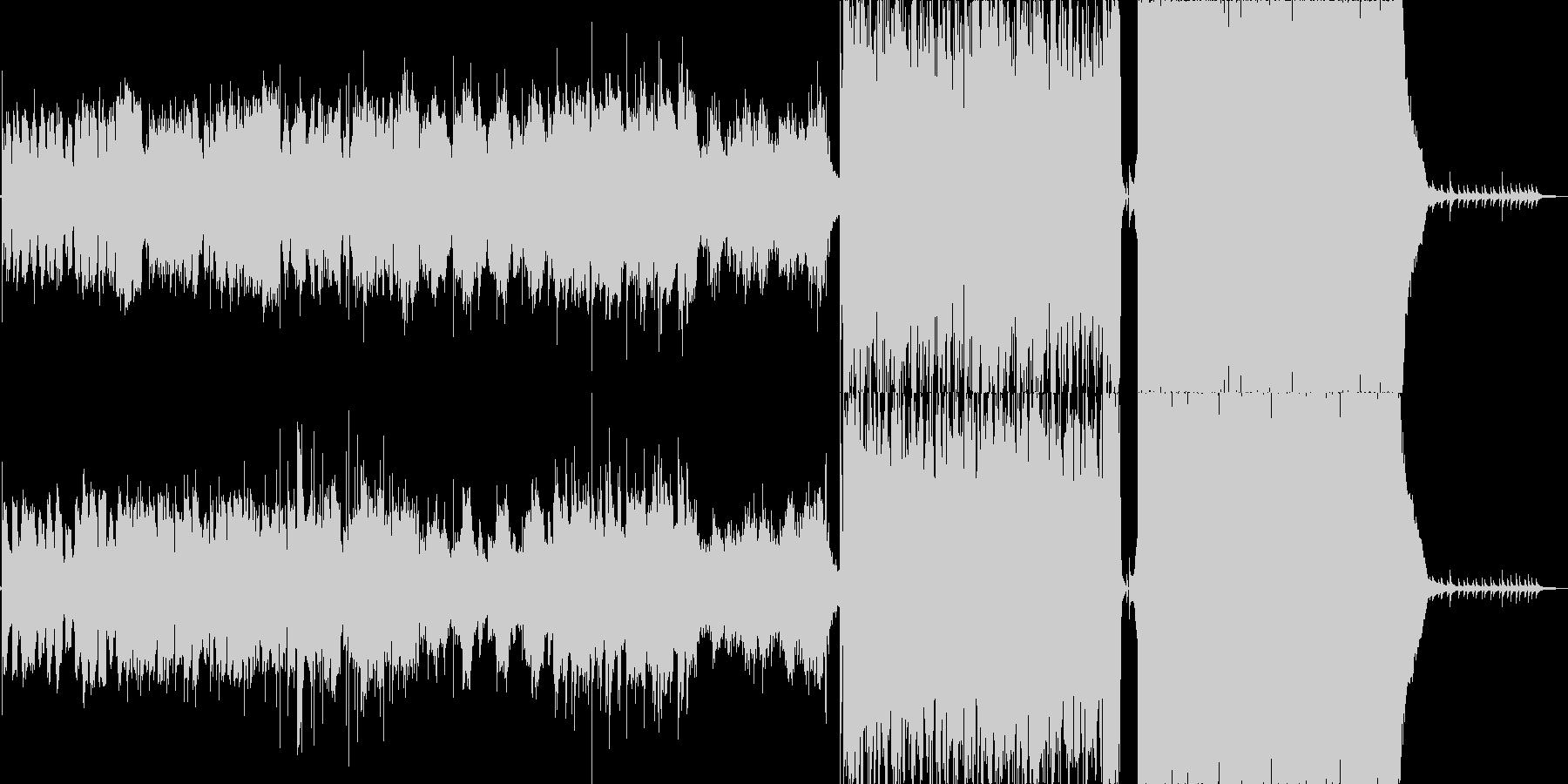 レトロな音色のピアノメインの優しい曲の未再生の波形