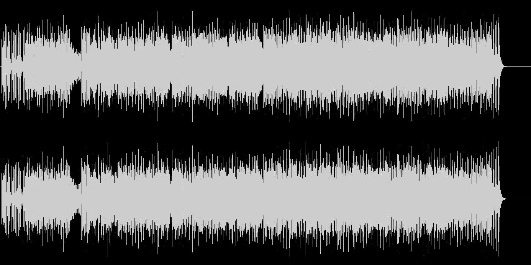 シックでエレガントなボサノバの未再生の波形