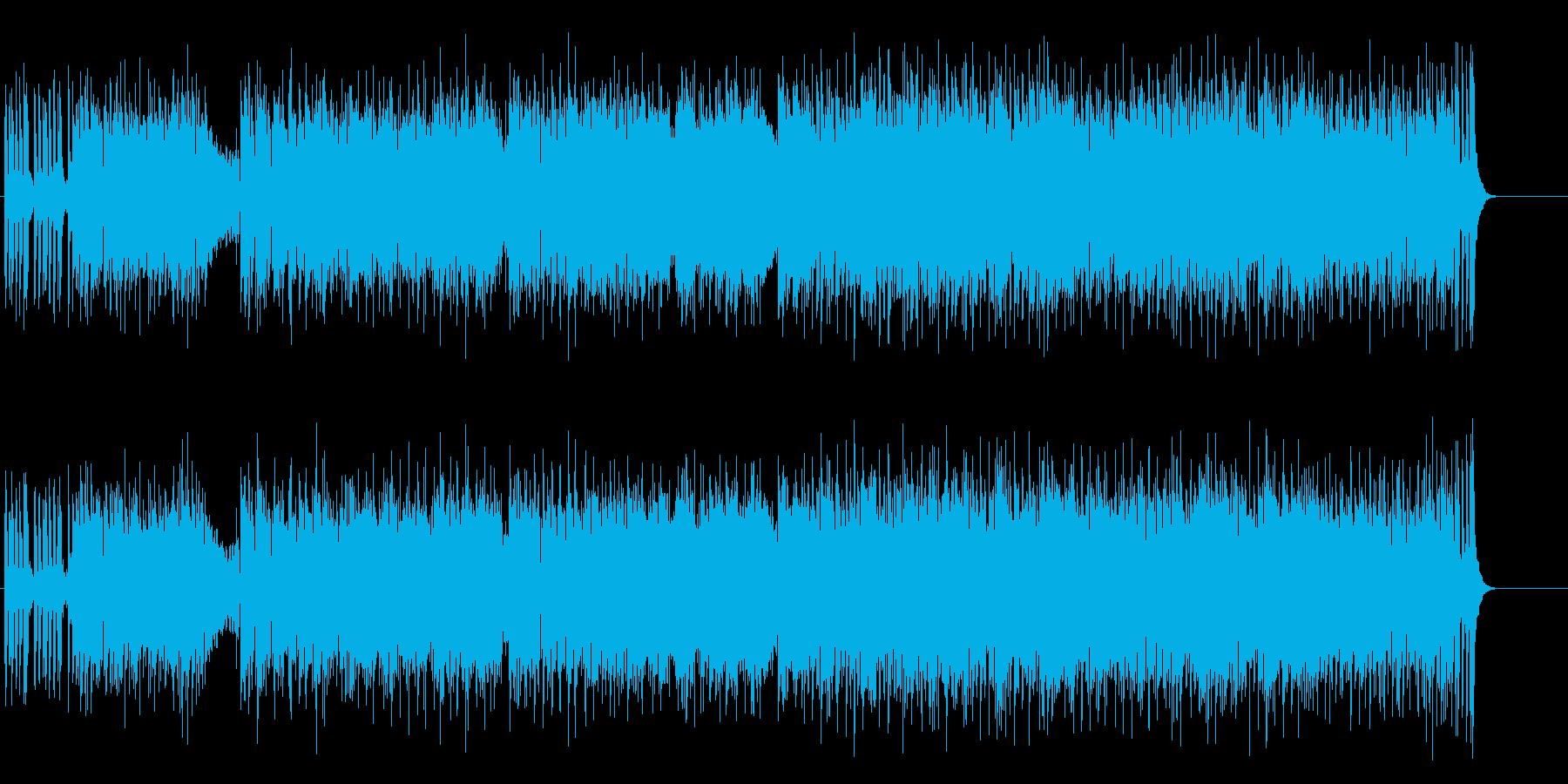 シックでエレガントなボサノバの再生済みの波形