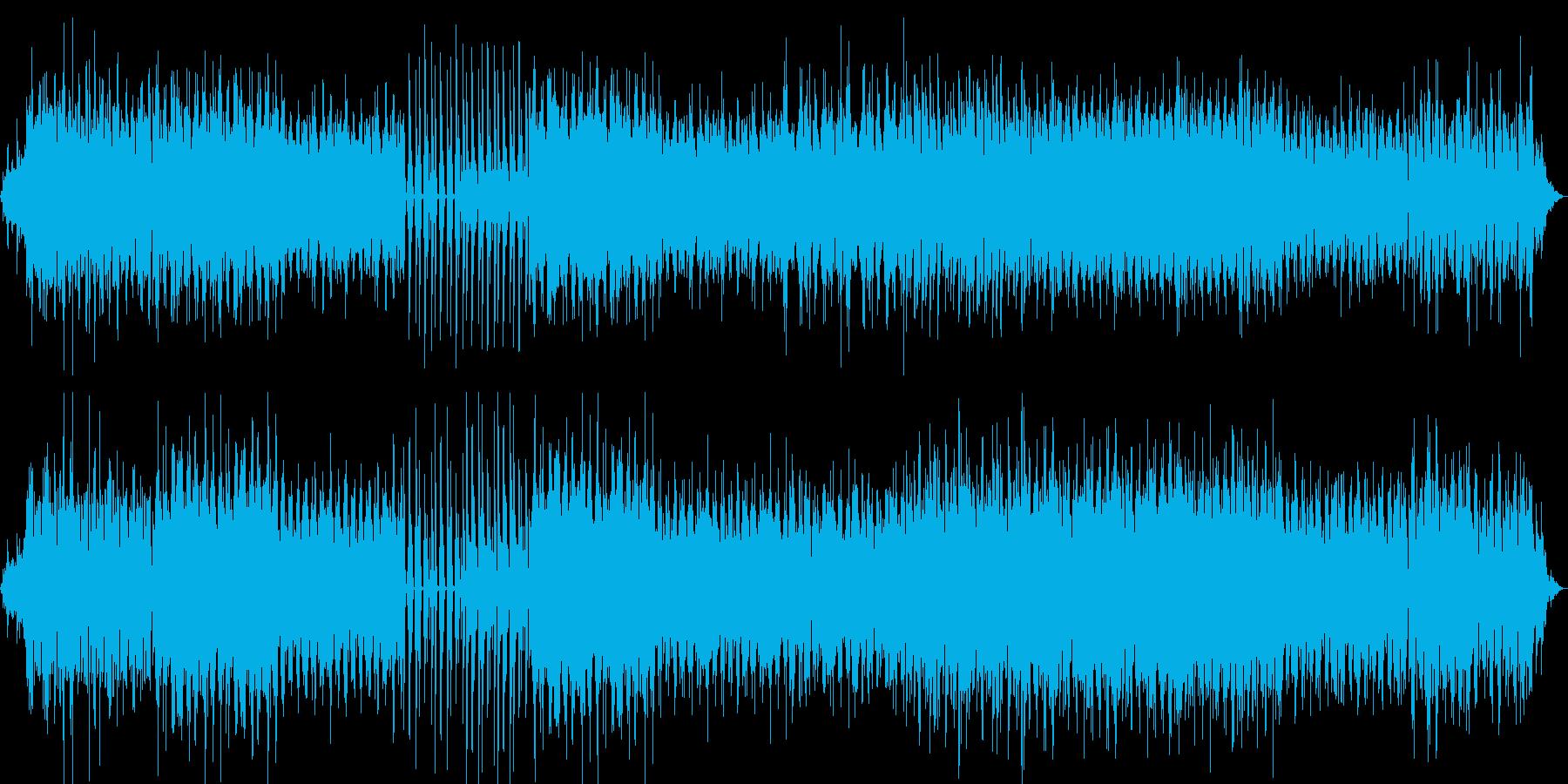 パリジェンヌの日常を表現したBGMの再生済みの波形