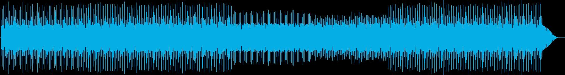 チープでキュートなチップチューン 電子音の再生済みの波形