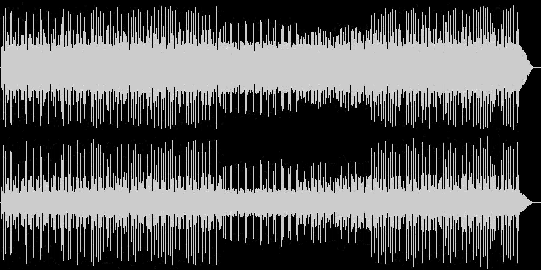 チープでキュートなチップチューン 電子音の未再生の波形