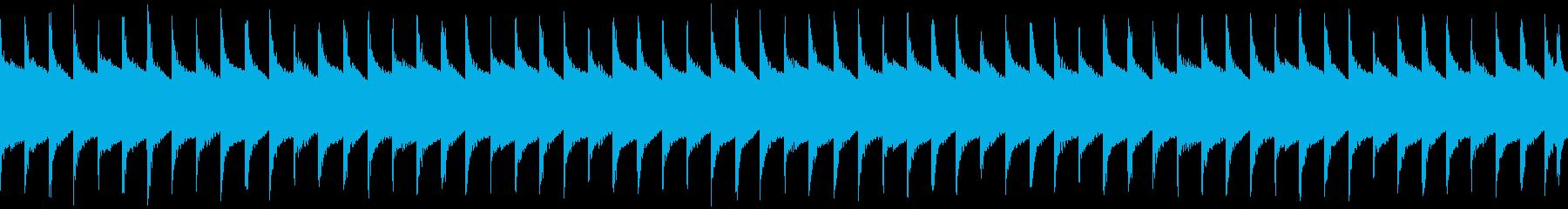 マップ画面・ロボットループ・単調シンセの再生済みの波形