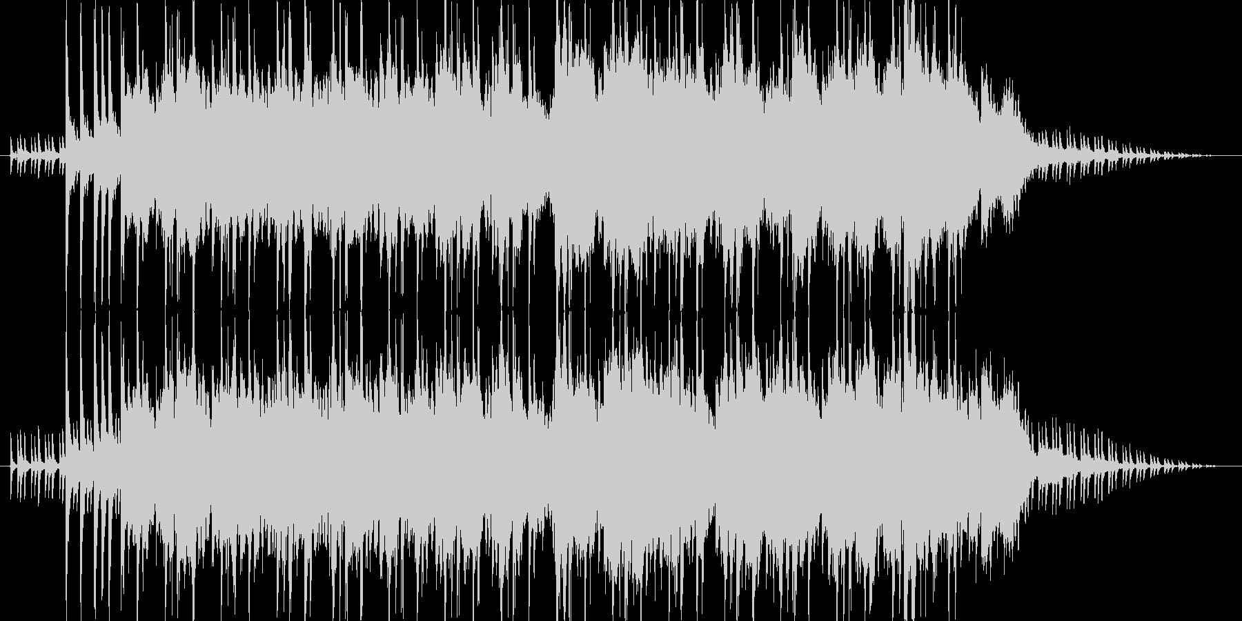 ピコピコかわいい出囃子 電子音 アイドルの未再生の波形
