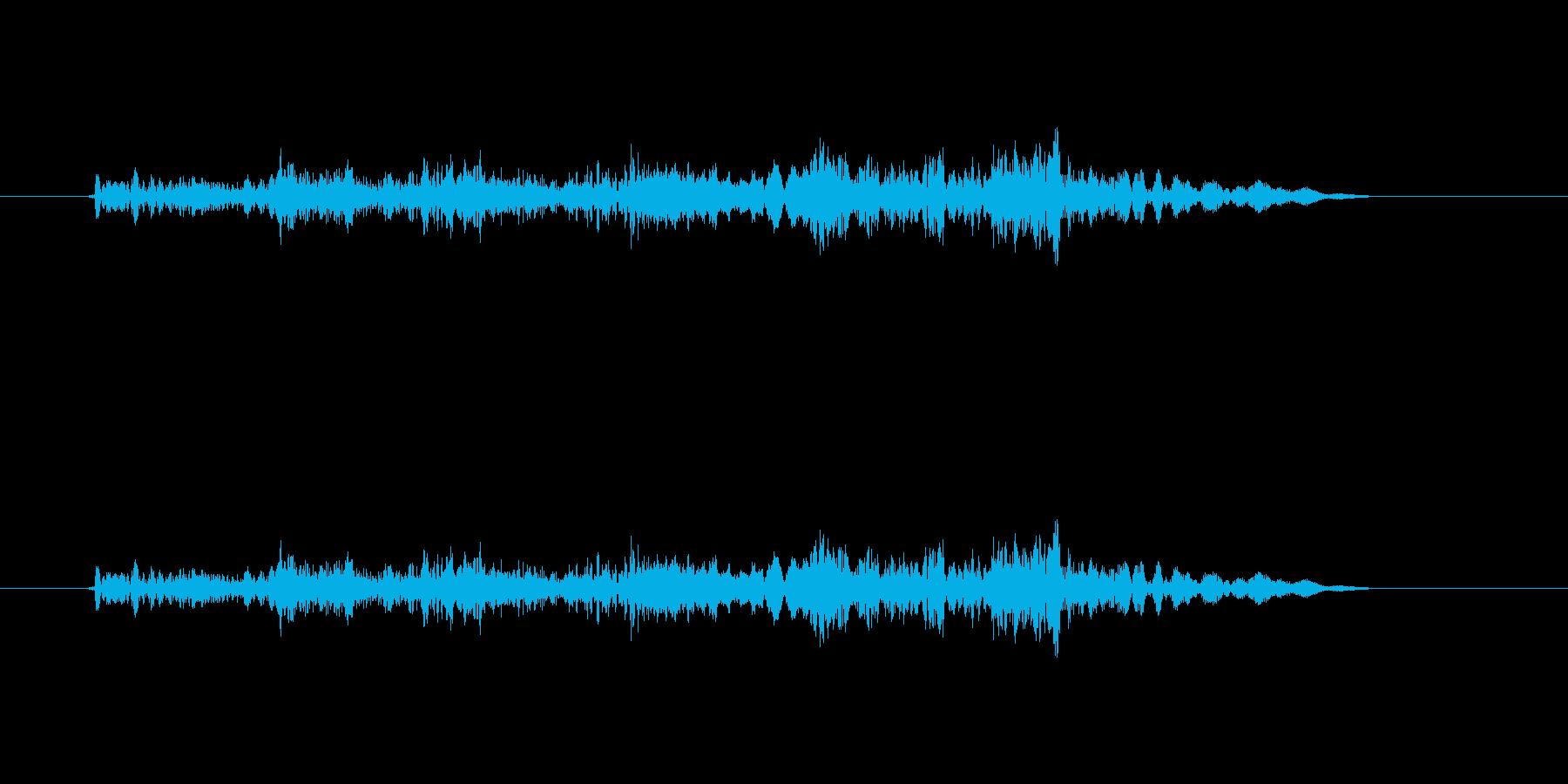 魔法に適した効果音ですの再生済みの波形