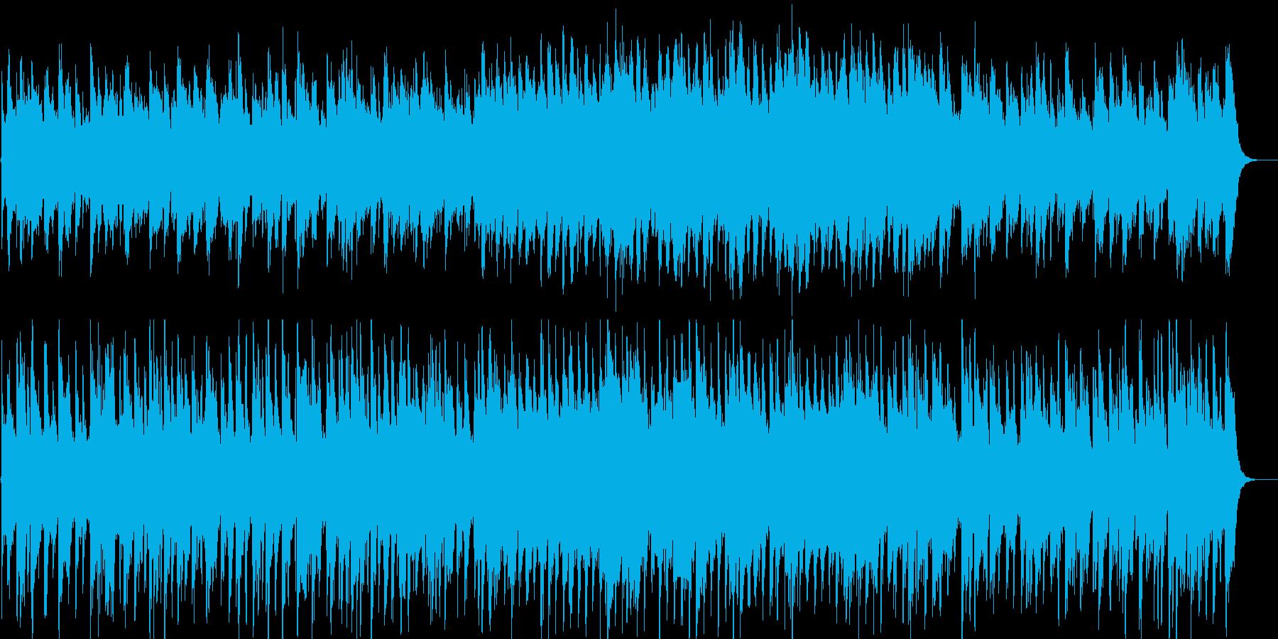 のんびりした雰囲気のおしゃれピアノジャズの再生済みの波形