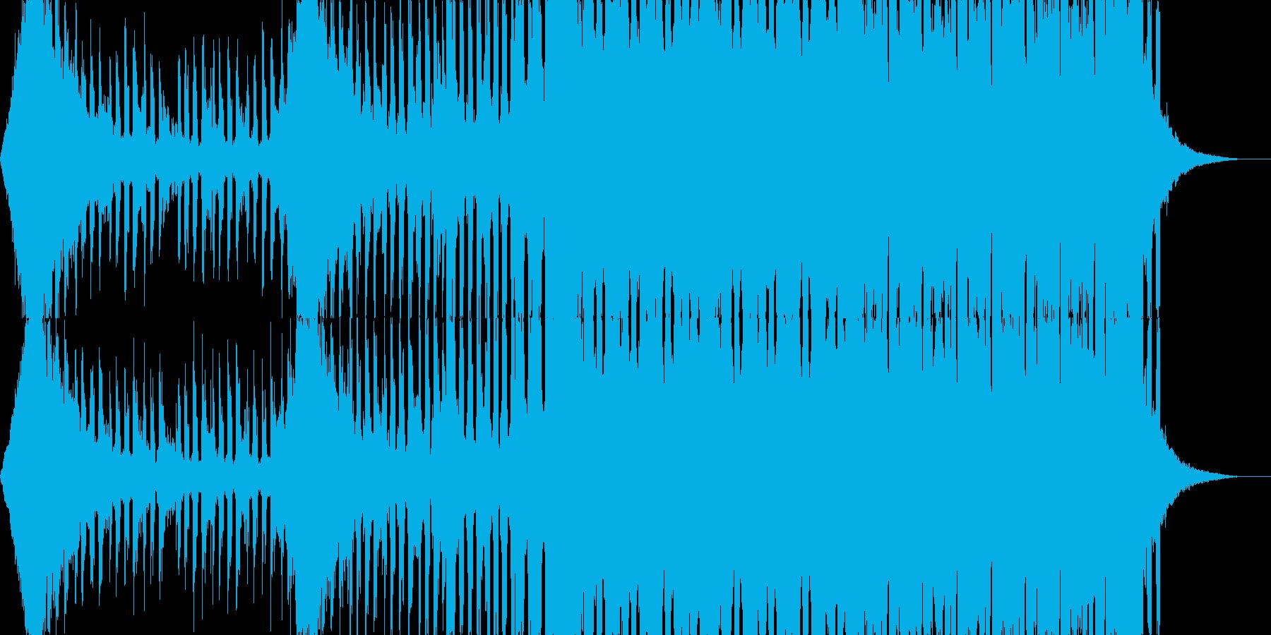 【EDM】OPや映像系に合いそうなEDMの再生済みの波形