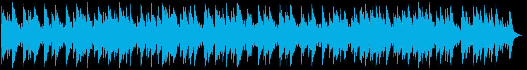 聖しこの夜 オルゴールの再生済みの波形