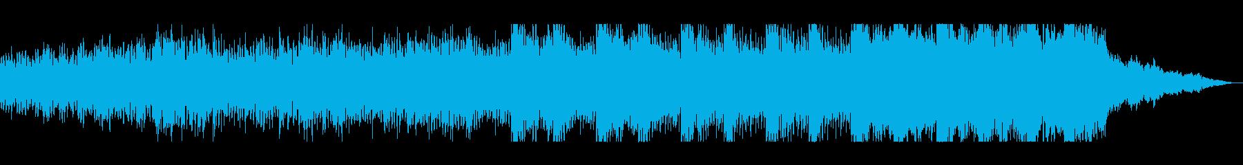 ミニマル〜ドラマチック、オーケストラの再生済みの波形