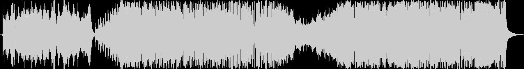 オーケストラやファンファーレ系の壮大OPの未再生の波形