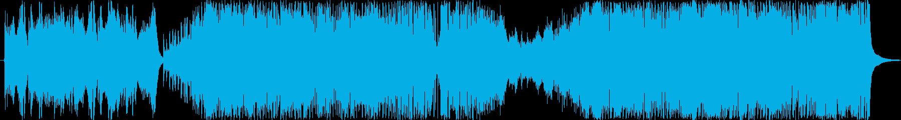 オーケストラやファンファーレ系の壮大OPの再生済みの波形