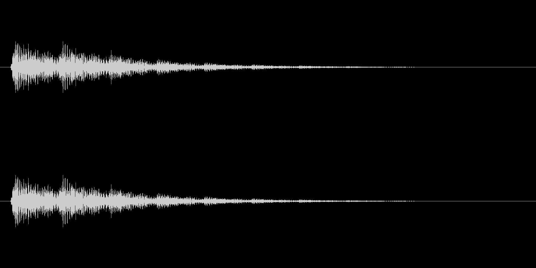 【ネガティブ05-2】の未再生の波形