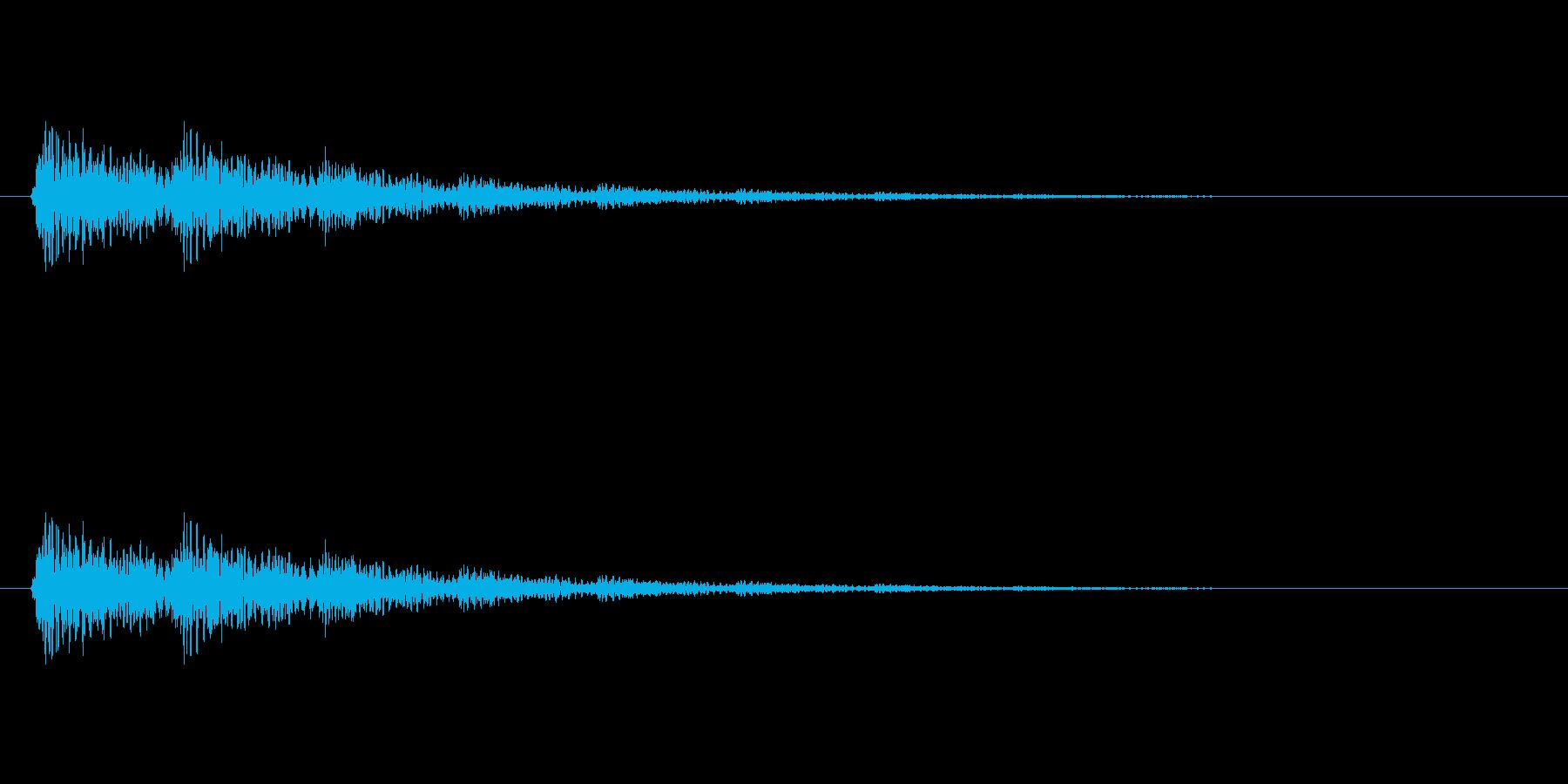 【ネガティブ05-2】の再生済みの波形