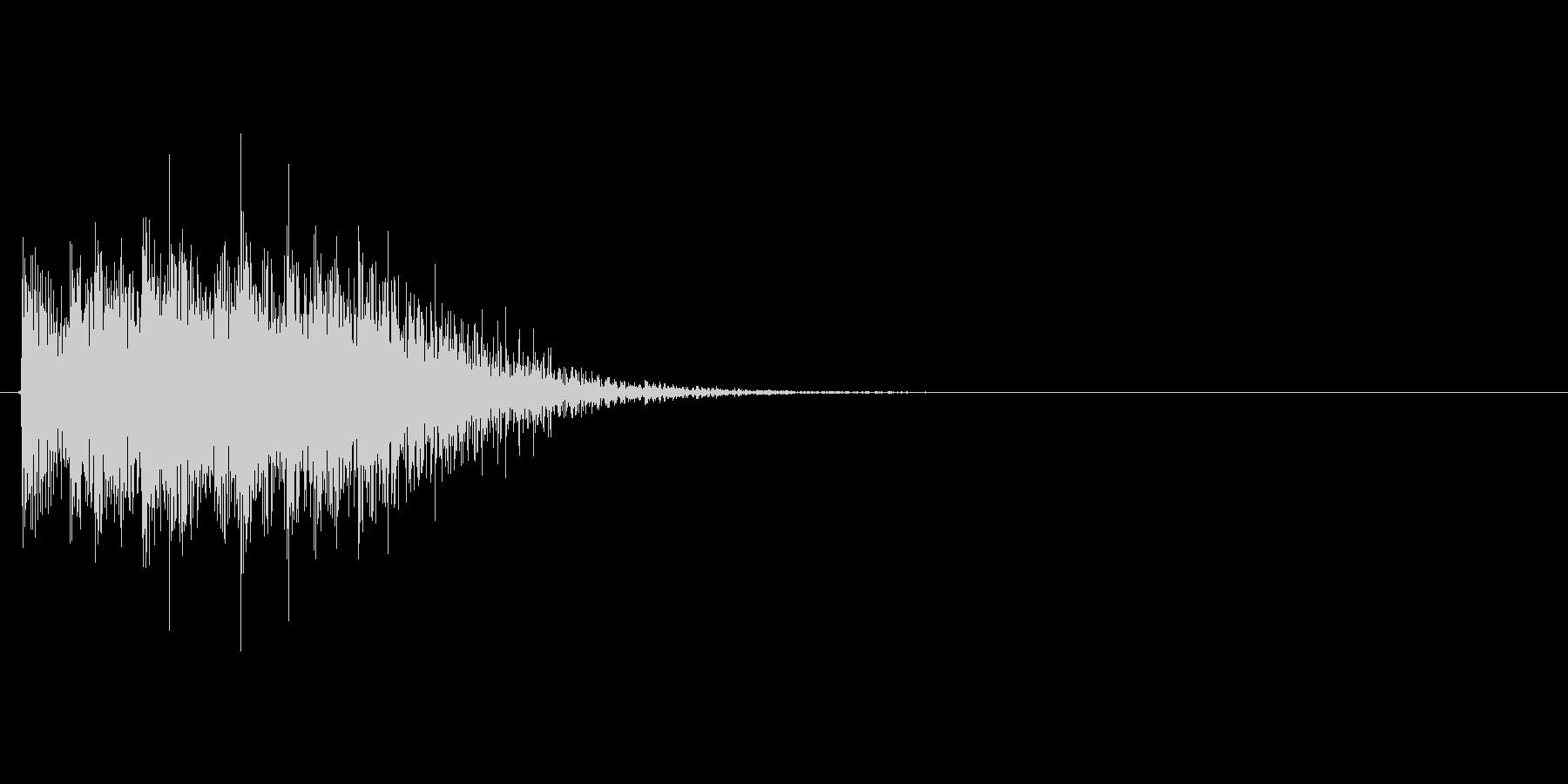 ギューン↓(能力値ダウン、下降)の未再生の波形