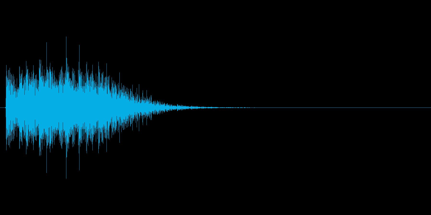 ギューン↓(能力値ダウン、下降)の再生済みの波形
