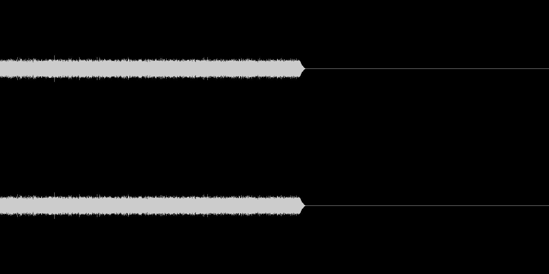 【ホワイトノイズ-2】の未再生の波形