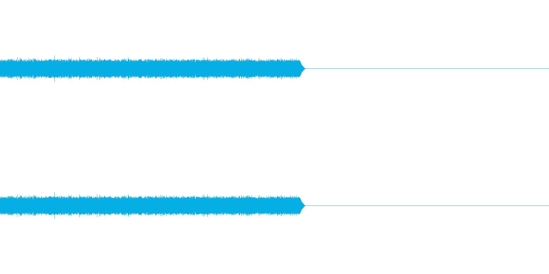 【ホワイトノイズ-2】の再生済みの波形