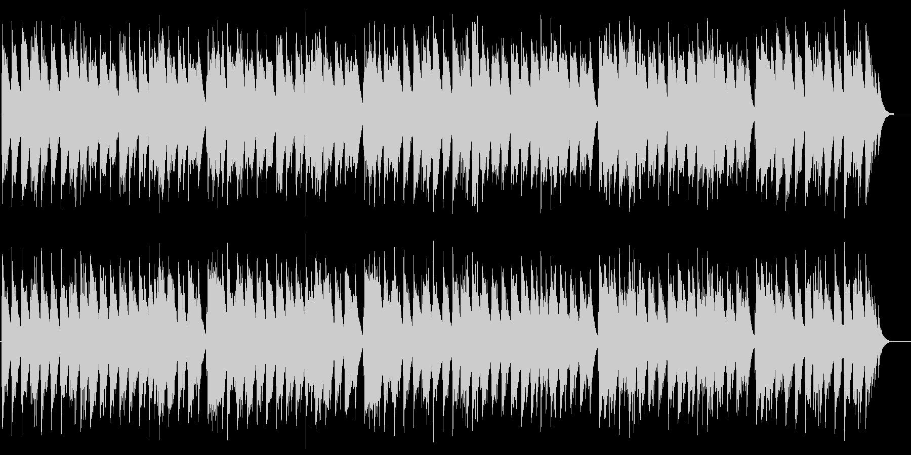 小さなティーポット オルゴールの未再生の波形