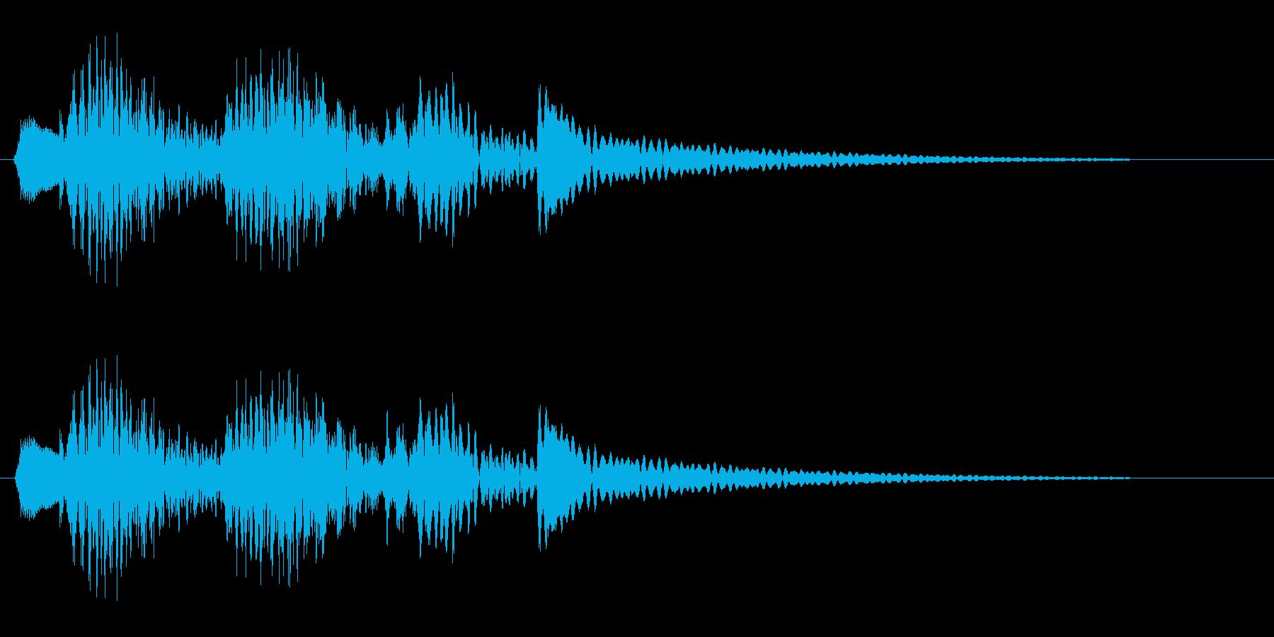 ピヨンピヨン(楽器系)の再生済みの波形