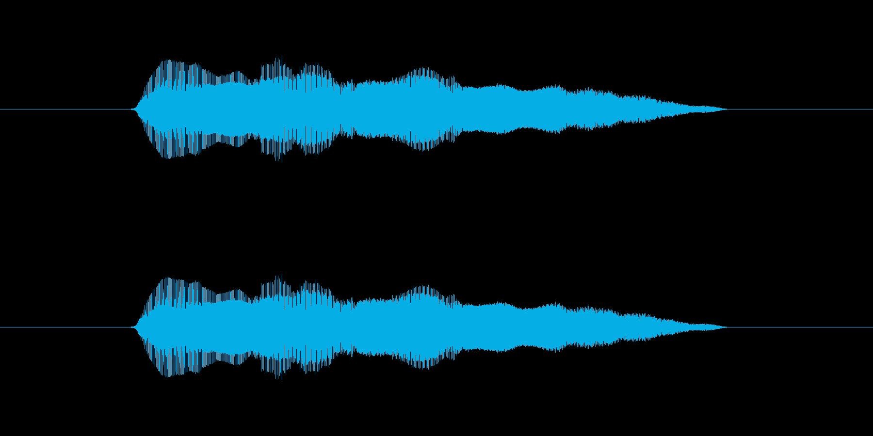 ムニャムニャの再生済みの波形