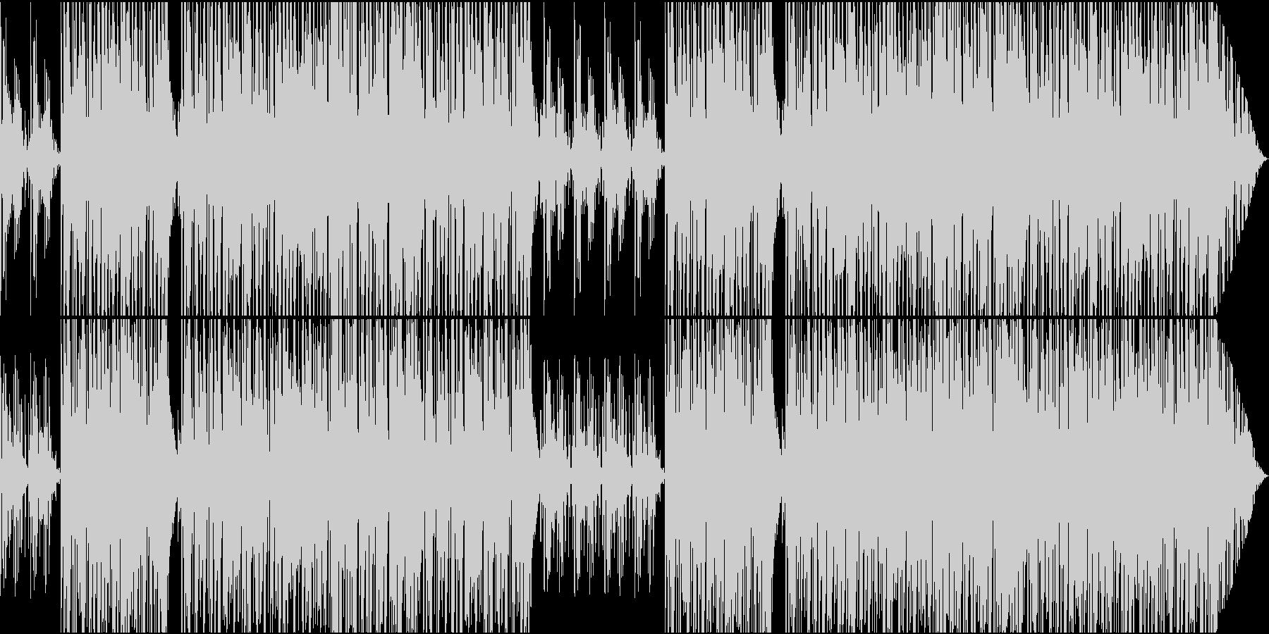 ガットギターPOPギターインストメロ無しの未再生の波形