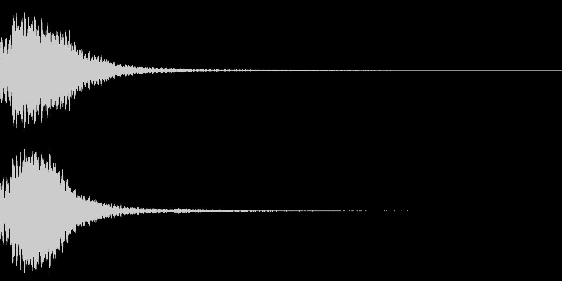 効果音 和風 キラーンの未再生の波形