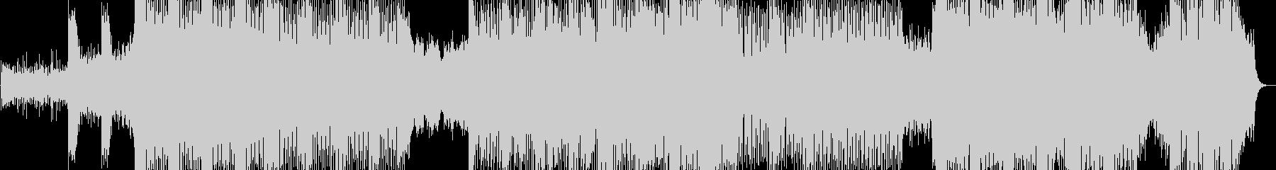 パワフル・疾走感・ダーク系BGMの未再生の波形