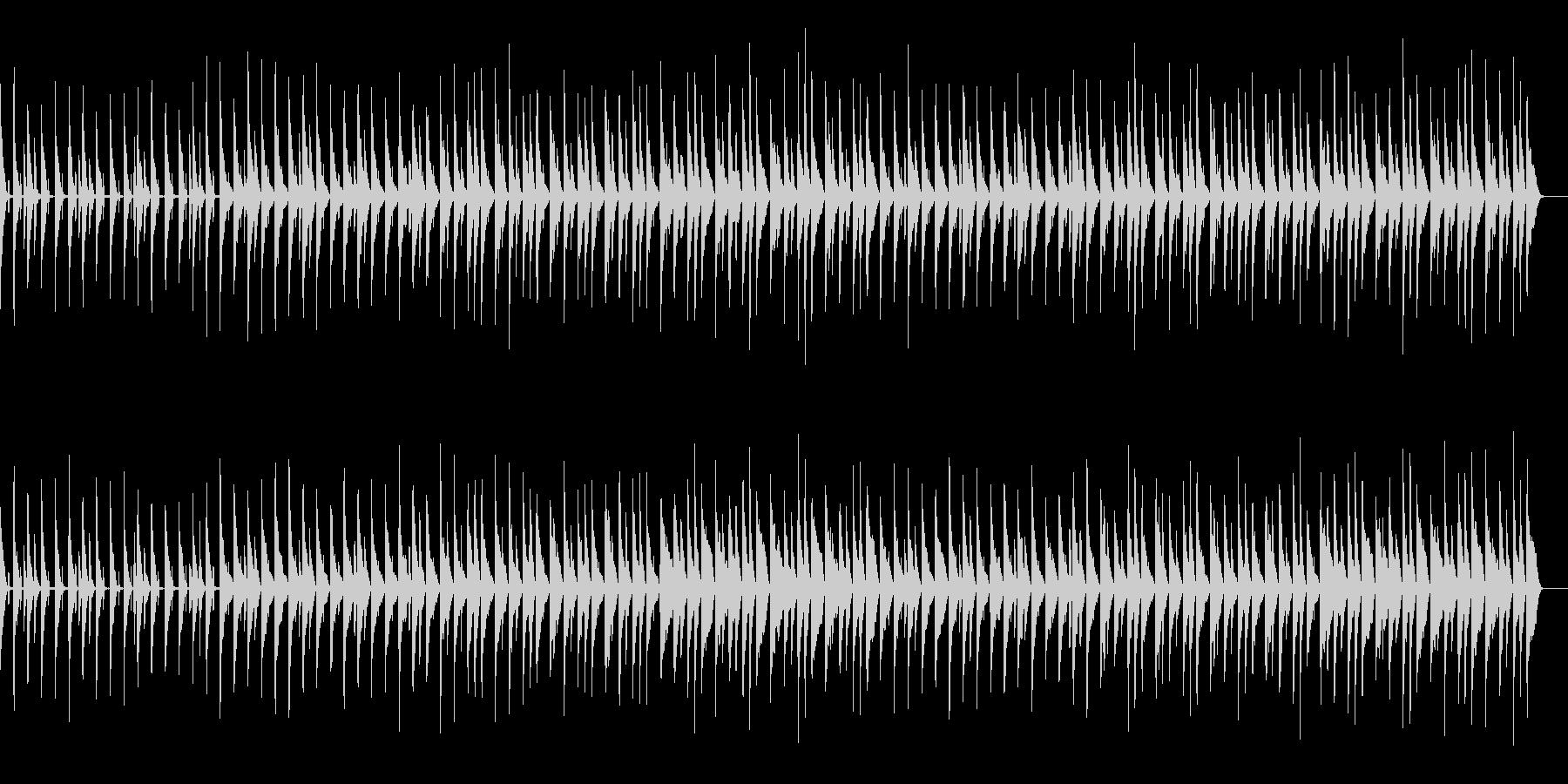 かわいい、ピアノ、コミカル-10の未再生の波形