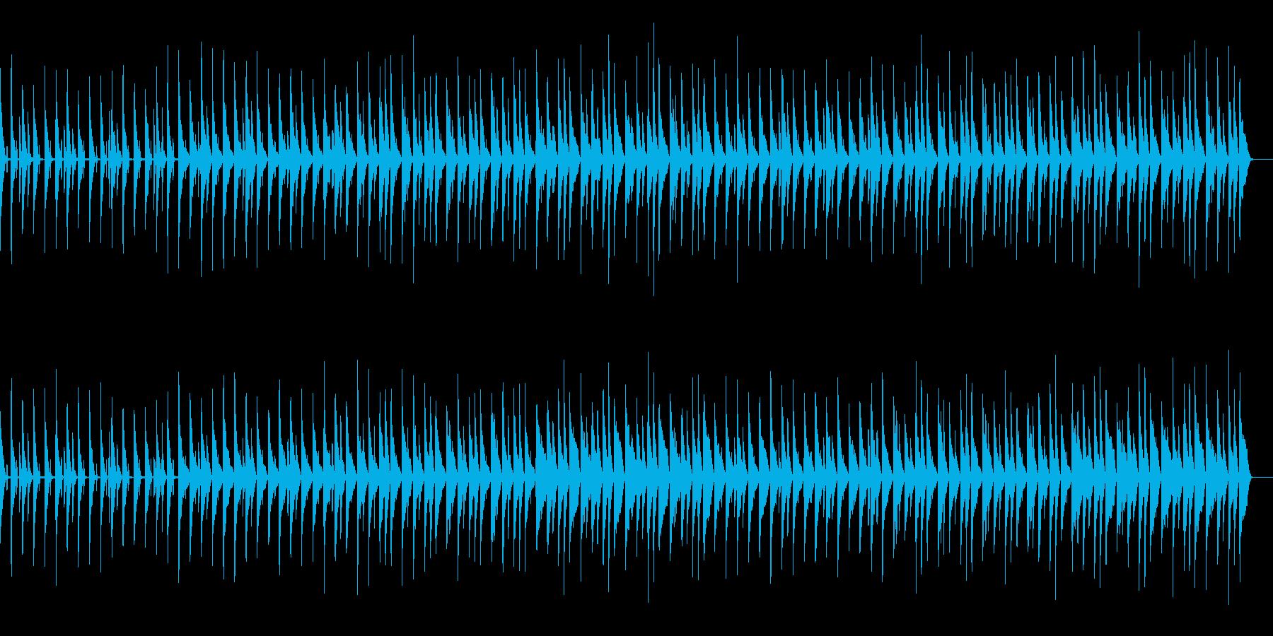 かわいい、ピアノ、コミカル-10の再生済みの波形