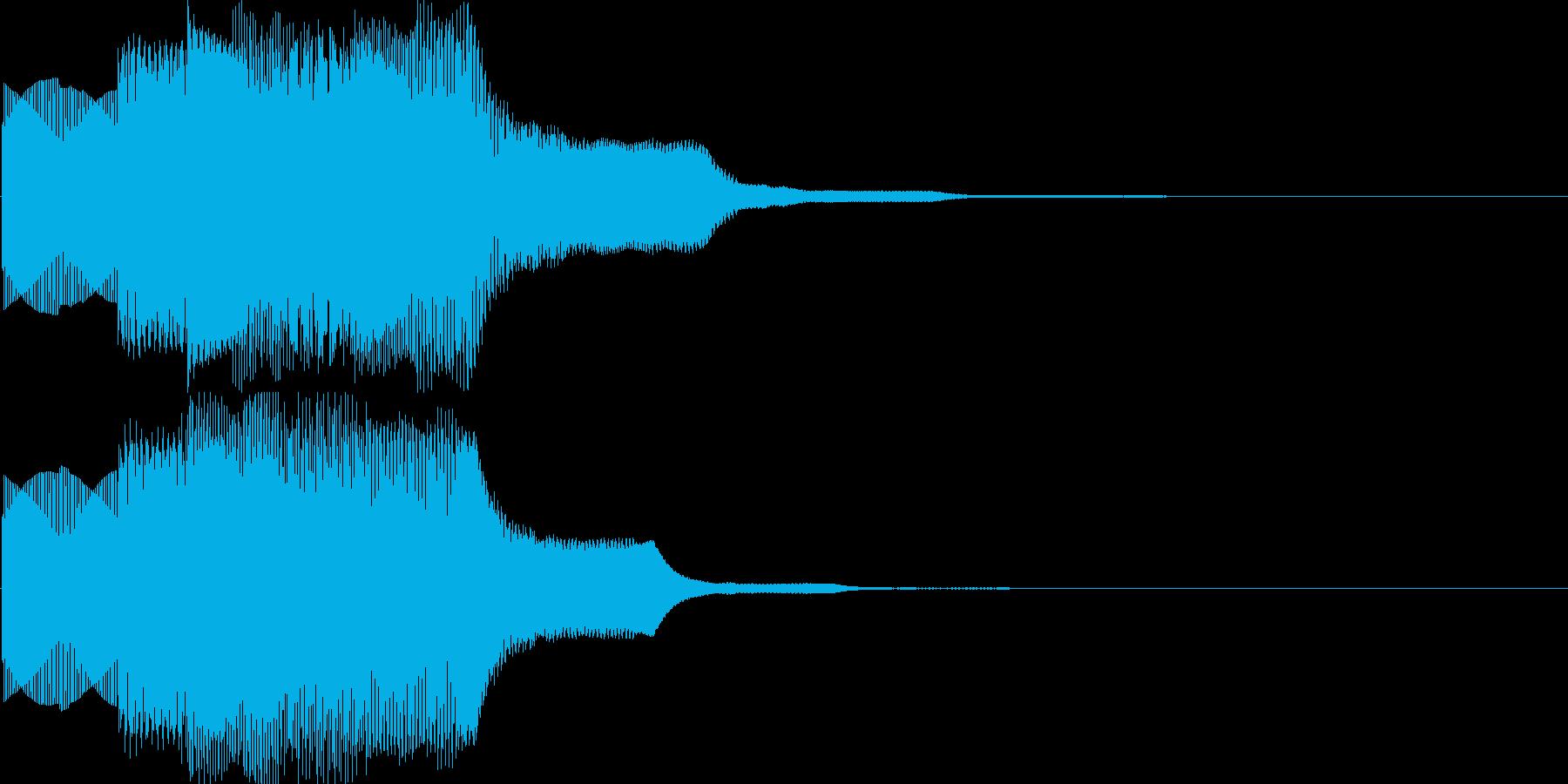 汎用決定ボタン - 1の再生済みの波形